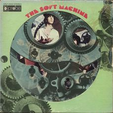 "Soft Machine - ""Soft Machine"" [First album with uncensored Moving parts cover] - album LP - 1968/1968"