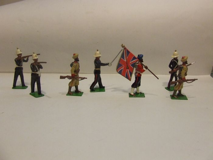 Britains - Personnage Soldados Ingleses na guerra da India - Unknown