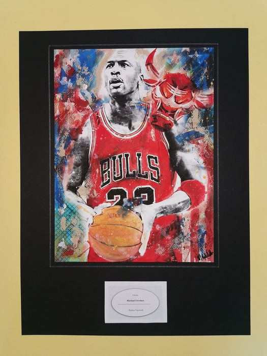 NBA Basketball - Michael Jordan - Kunstwerk