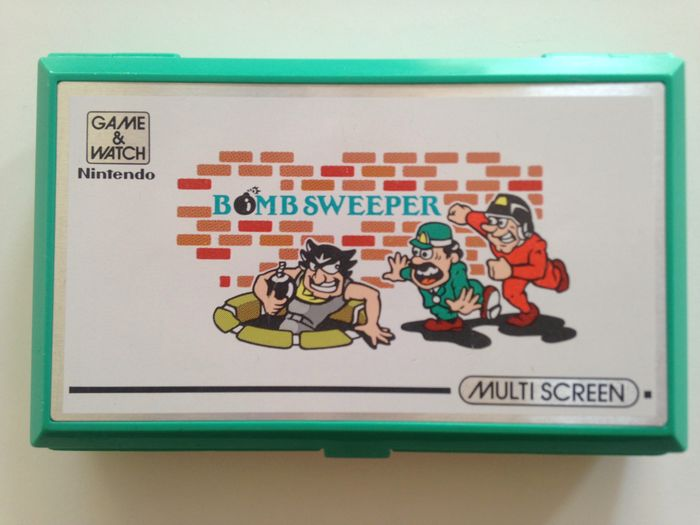 Nintendo Game & watch - Multi Screen - Bombsweeper - LCD game - Without original box