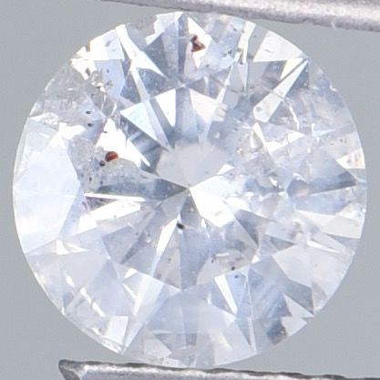 1 pcs Diamond - 1.01 ct - Brilliant, Round - G - I2  ** IGI Antwerp Certified **  No Reserve Price! **
