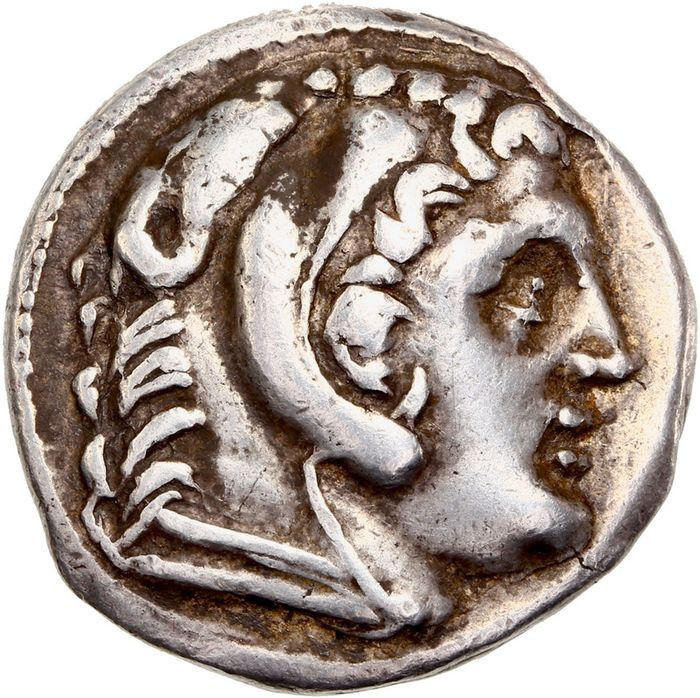 Griechenland (Antike) - Kingds of Macedon. AR Tetradrachm,  In the name of Alexander III. Amphipolis mint. Struck circa 307-297 BC - Silber