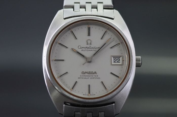 "Omega - Constellation - ""NO RESERVE PRICE"" - 168005/6 - Homme - 1972"