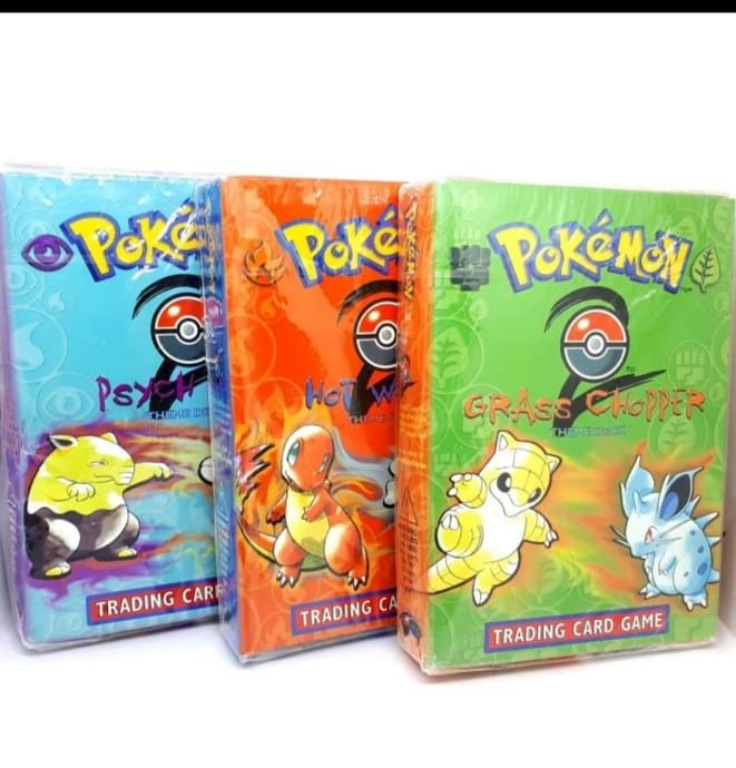 Nintendo - Pokémon - 3 verzegelde dozen Pokemon Trading Card Game Base Set 2 Theme Decks - Sealed - 1999