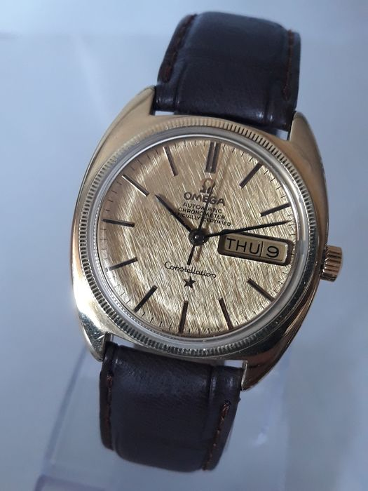 Omega - Constellation Automatic Linen Dial - 168.017 - Uomo - 1960-1969
