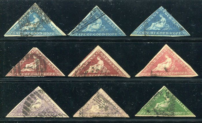 Südafrika 1853/1960 - Collection starting with triangles