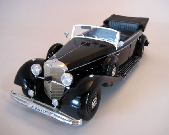 "MCG - 1:18 - Mercedes-Benz 770 ""Grosser"" (W150) Black - Mint Boxed - Limited Edition"