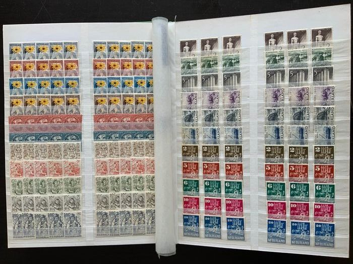 Netherlands 1936/1967 - Inventory in a stock book