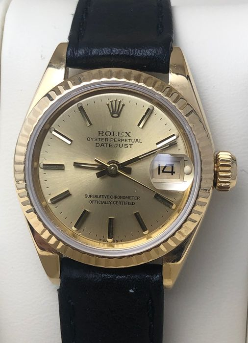 Rolex - Oyster Perpetual Datejust - 69178 - Dames - 1980-1989