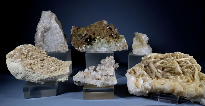Calcite Mineral Collection - 1.788 g - (6)