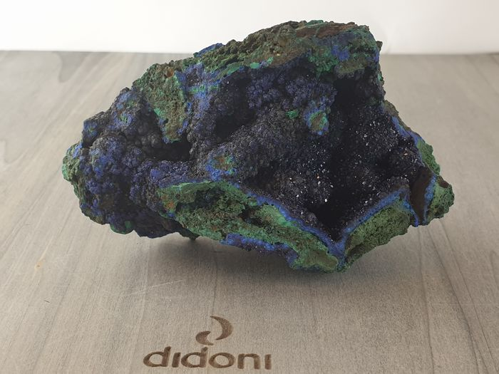 Azurite de malachite Collection minérale - 5.2×6.2×9 cm - 335 g
