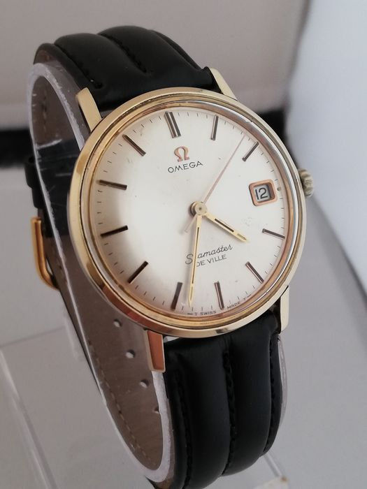 Omega - seamaster de ville rare hand winding cal.613 with orig.Omega box!  Mens Watch - 613 caliber - Homme - 1960-1969