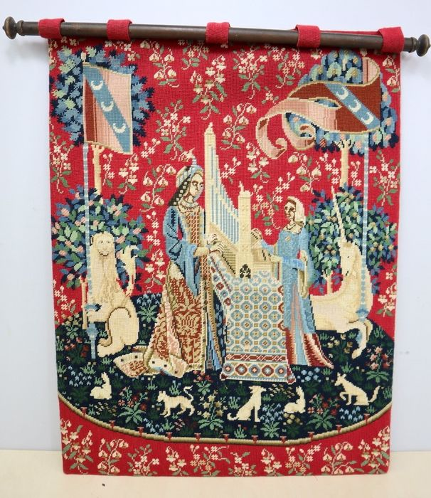 Tapestry - Probably wool - 20th / 21st century