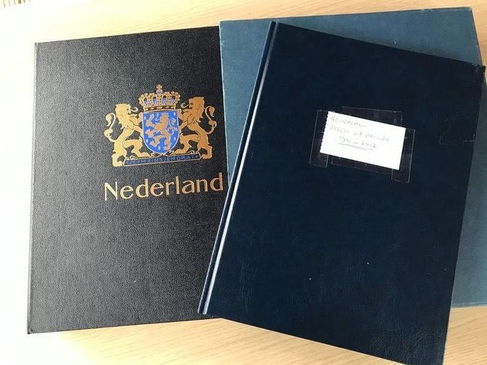 Netherlands 1940/2012 - Batch in stock book and album