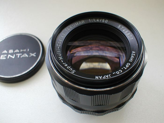 Asahi Super-Multi-Coated Takumar 50mm F/1.4 lens