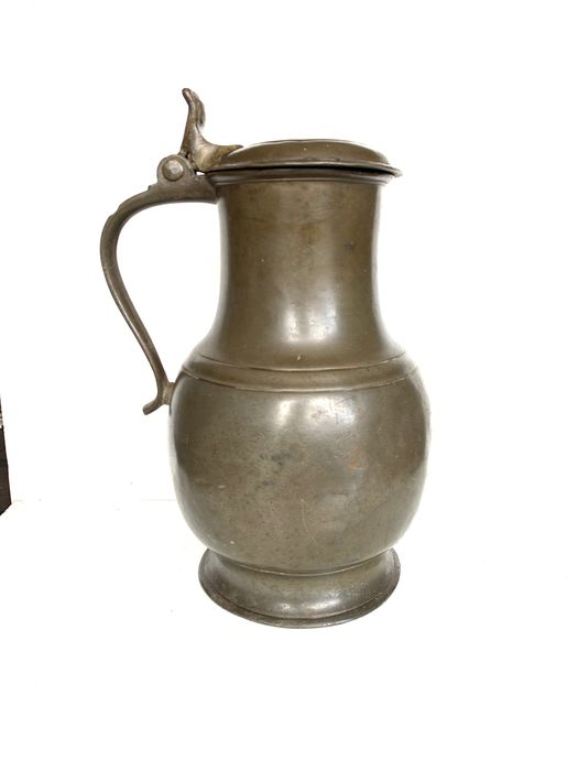 Pitcher (1) - Pewter/Tin - 18th century