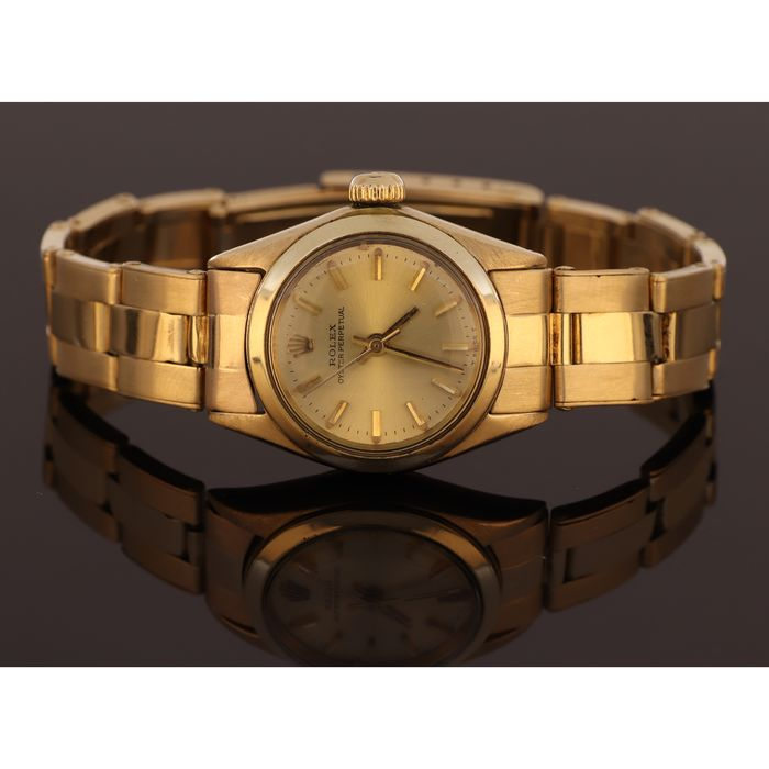Rolex - Oyster Perpetual Lady  - 6719 '' NO RESEVE PRICE '' - Dames - 1970-1979