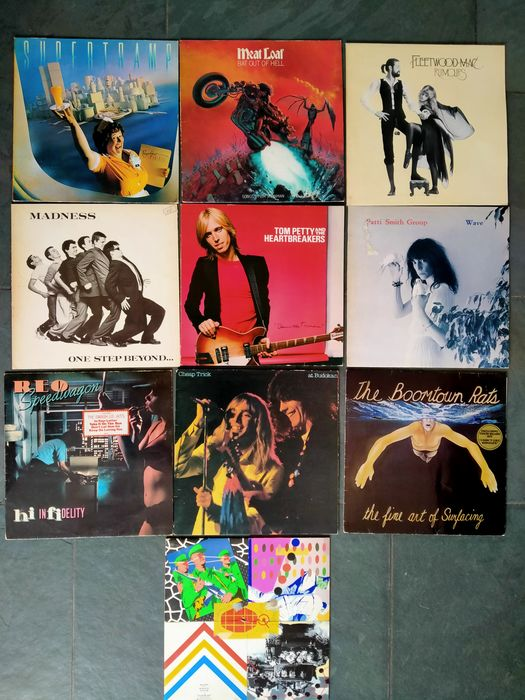 Various Bands in Pop & Rock - Multiple artists - Multiple titles - LP's (including many Hitsingles) - 1977/1980
