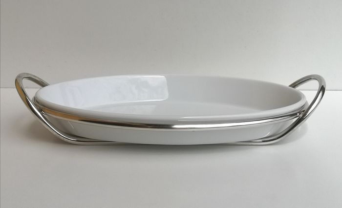 "Lino Sabattini - Rare ""Pragma"" serving dish"