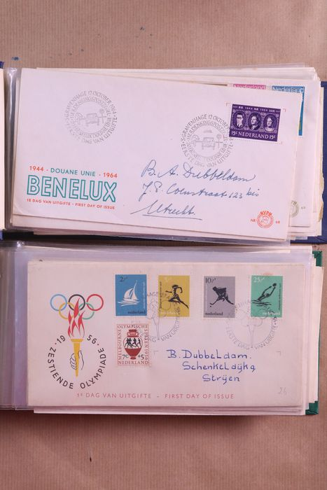 Netherlands 1956/2005 - Batch of maximum cards, covers and FDCs