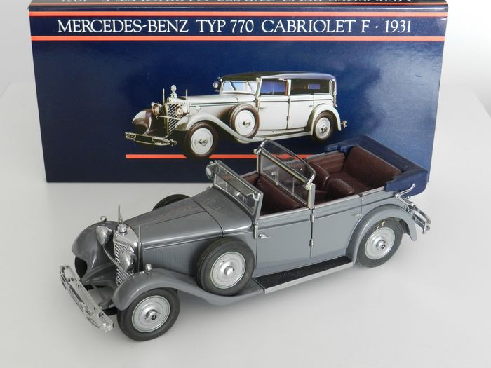 Paul's Model Art (Minichamps) - 1:24 - 1931 Mercedes-Benz Cabriolet F