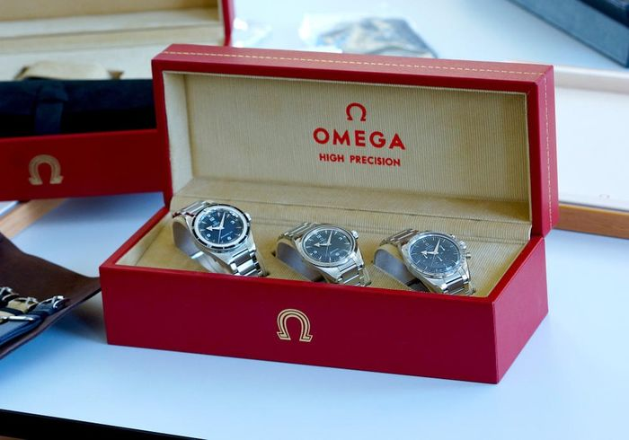 Omega - Trilogy Set Limited Edition 557 60th Anniversary 1957 - Unisexe - 2017