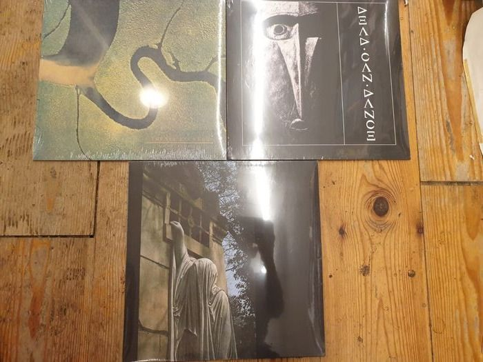 Dead Can Dance - The Serpent's Egg || Dead Can Dance || Within The Realm Of A Dying Sun ||  - Multiple titles - LP's - 2016/2017