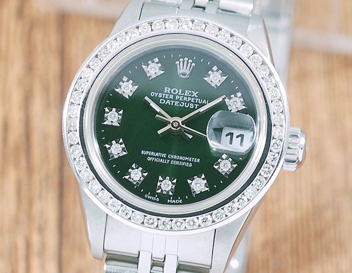 Rolex - Oyster Perpetual DateJust - 69160 - Femme - 1990-1999