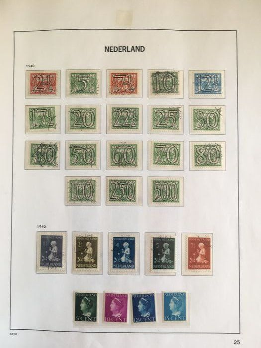 Netherlands 1899/1964 - Collection in a DAVO LX album