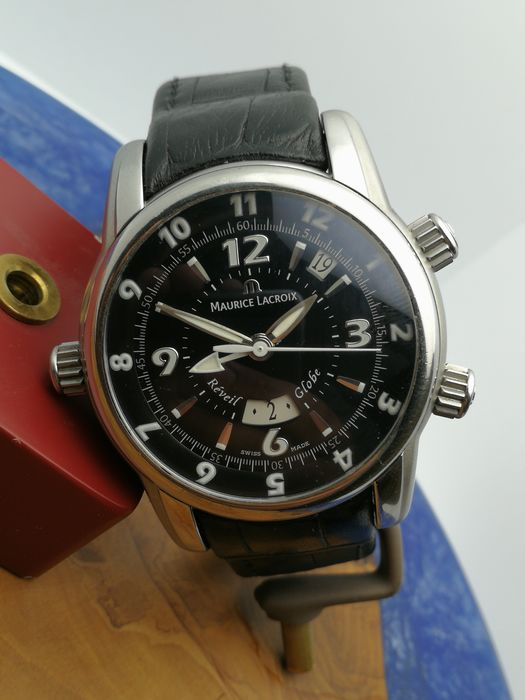 Maurice Lacroix - Masterpiece Reveil Globei - MP6388 - Men - 2000-2010