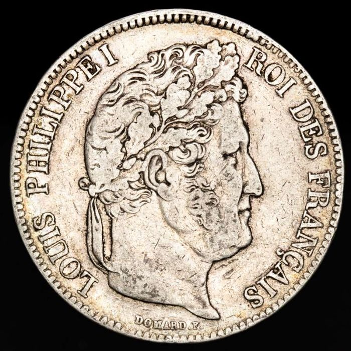 France - Louis Philippe I - 5 Francs 1838 - W ( Lille ) - Silver
