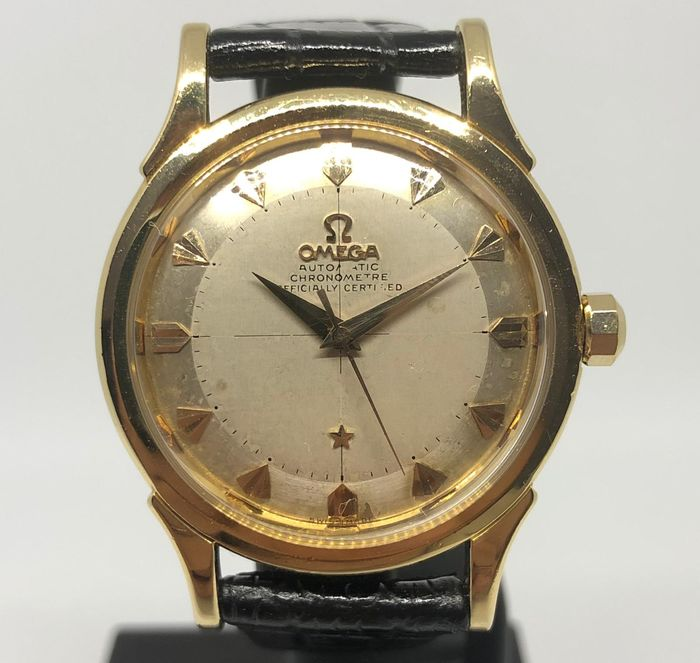 """Omega - Constellation - """"Pie Pan"""" - 18K Gold - 2782 - Homme - 1950-1959"""
