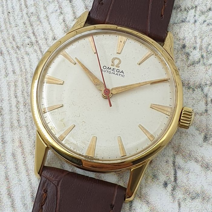 """Omega - """"NO RESERVE PRICE"""" - 14716/7-1 SC - Homme - Ano 1958"""