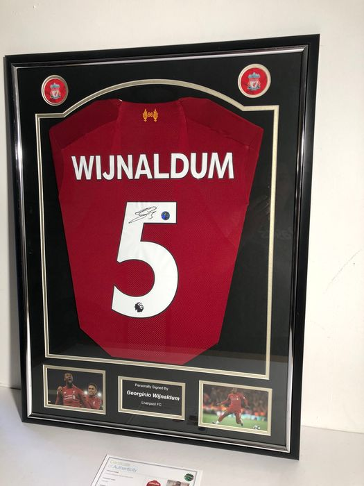 Liverpool - European Football League - Georginio Wijnaldum - Jersey