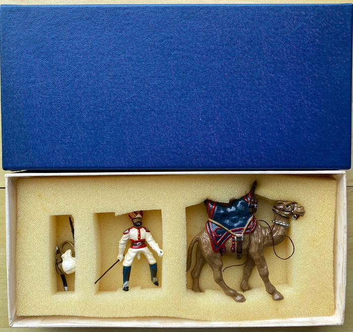 King & Country - Personnage Indian Army Bikaner Camel Corps