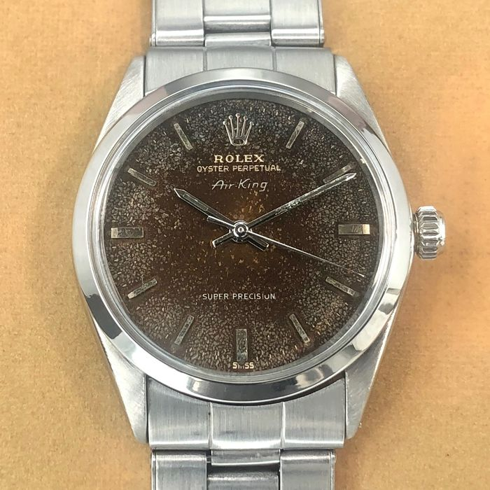 Rolex - Air King Super Precision - Ref. 5500 - Unisex - 1968