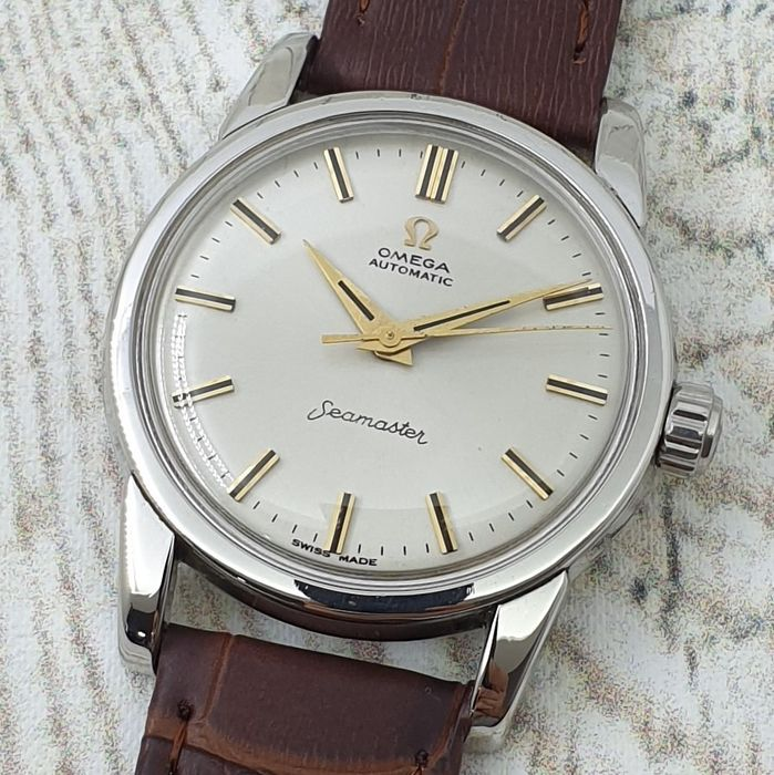 """Omega - Seamaster - """"NO RESERVE PRICE"""" - 2846-1 SC - Homme - Ano 1954"""