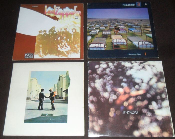 """Crosby, Stills, Nash & Young, Various Artists/Bands in Classic Rock (before 1990), Led Zeppelin, Pink Floyd - Différents artistes - Différents titres - LP's, Maxi Single 12""""inch - 1970/1987"""