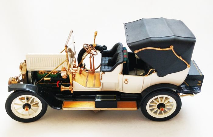 Franklin Mint - Model car (1) - Brass, Plastic, Wood
