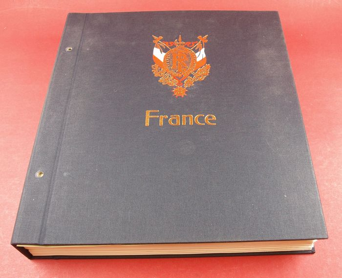 Frankreich 1849/1969 - Excellent valued collection in DAVO album