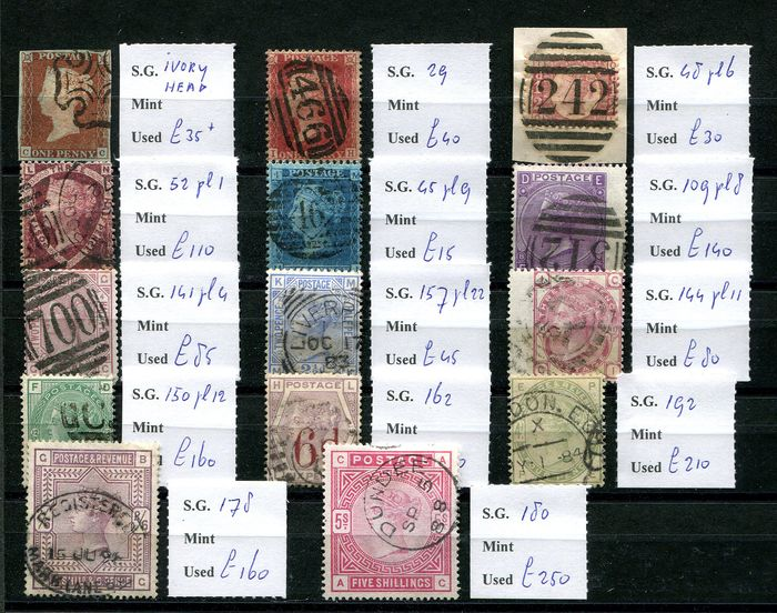 Great Britain 1841/1883 - Victoria collection - Stanley Gibbons