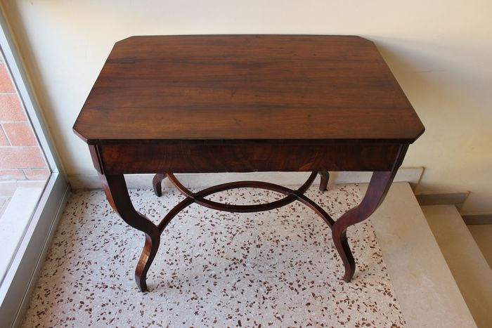 Console table - Louis Philippe - Walnut - First half 19th century