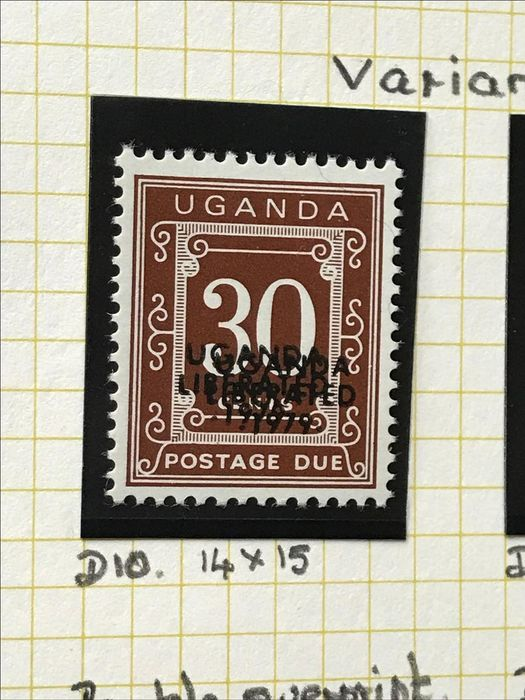 Africa - Specialised collection of English colonies with many curiosities