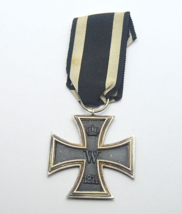 Germany - WW1 Iron Cross with ribbon - Medal - 1914