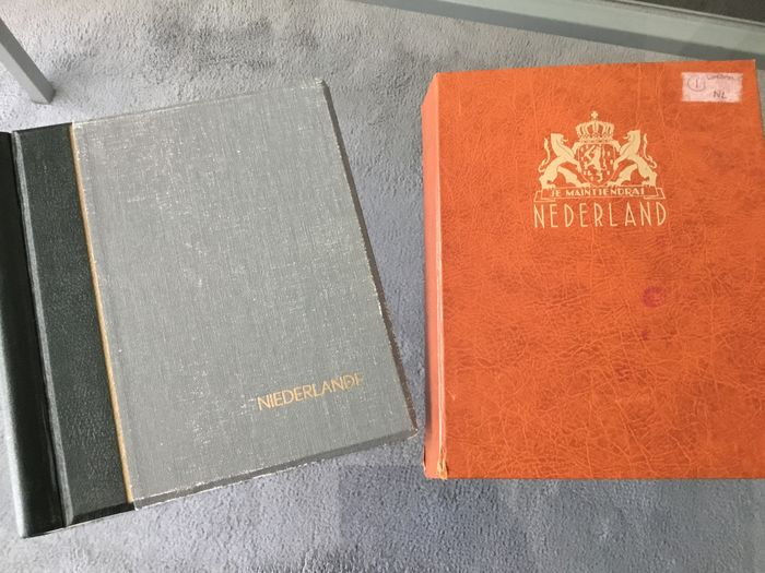 Netherlands 1852/1998 - Collection in two old albums