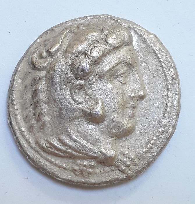 "Hellas (Oldtidens) - Macedon. AR Tetradrachm, Alexander III ""the Great"" (336-323 BC) - Sølv"