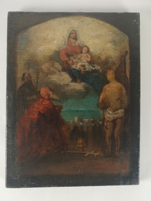 Painting - Oil painting on canvas - 19th century