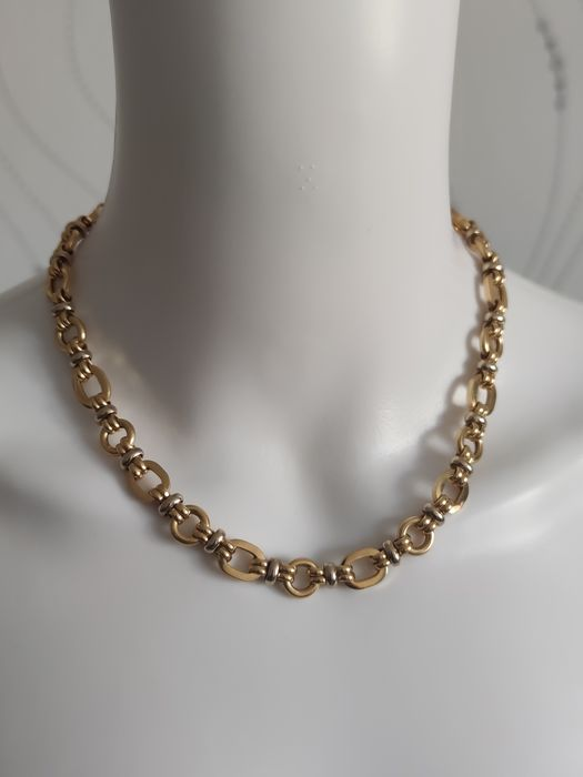 GAREL - 18 kt. White gold, Yellow gold - Necklace