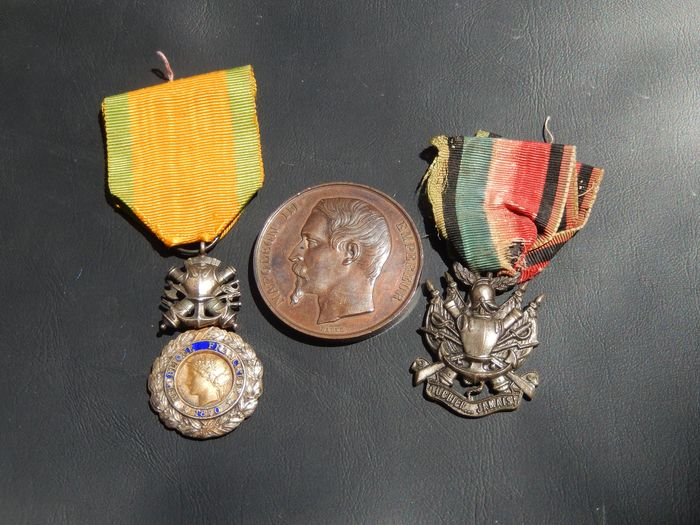 USA - Old medals second empire Napoleon (E11J) Elite army award - Medal - 1870
