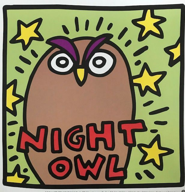 Keith Haring (after)  - Night Owl